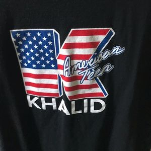 I bought this shirt to wear at a Khalid concert